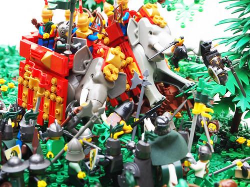 Elephant rampage!