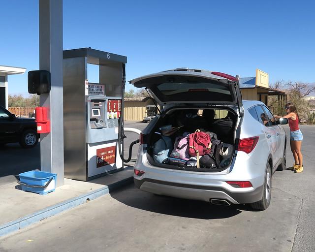 El mejor consejo para alquilar coche en EEUU es tener un gran maletero