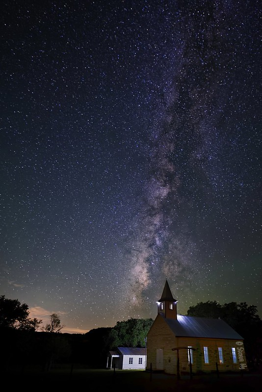 Milky Way at St. John Lutheran Church