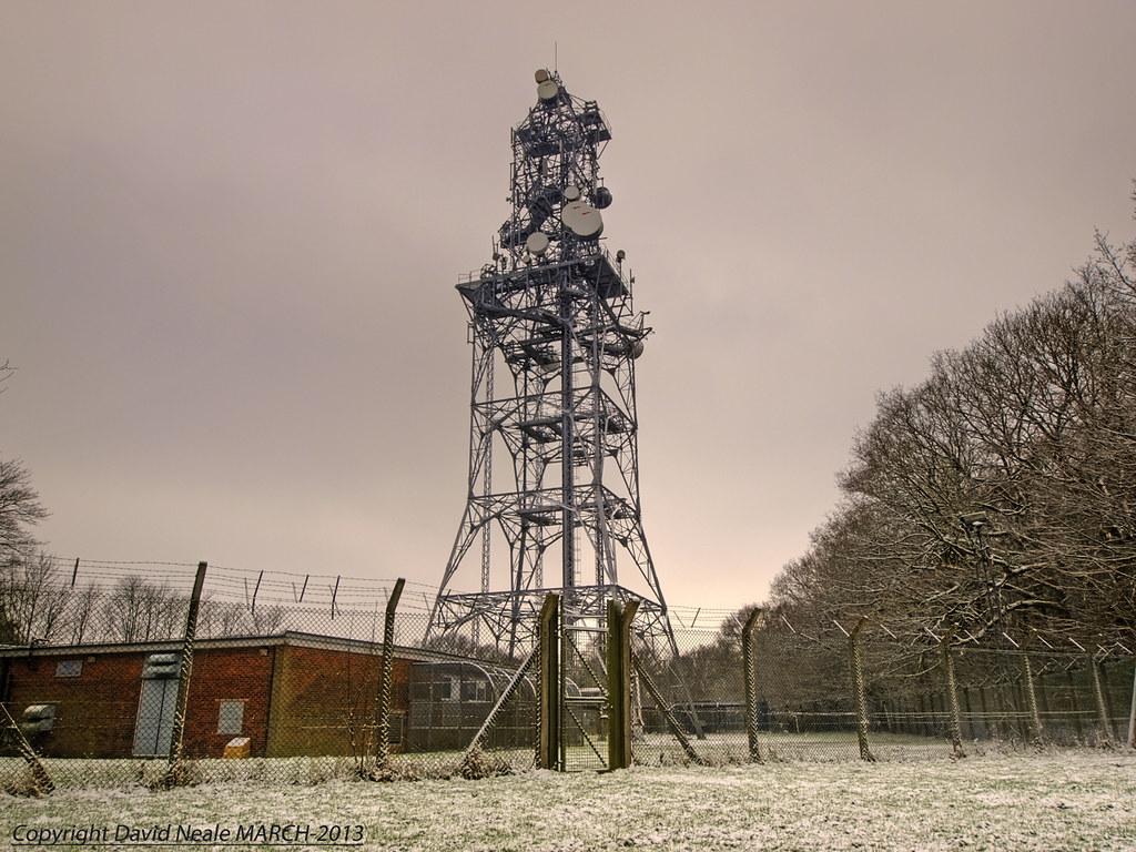 BT Radio Tower - Fairseat Kent | The BT Radio Station situat