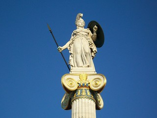 Goddess Athena   by Ionel C