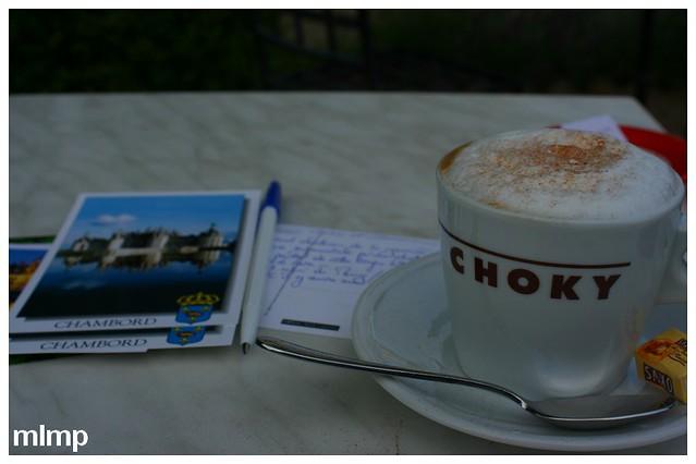 Un café à chambord
