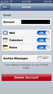 How To Enable Delete Button in iPhone or iPad's Mail Program For Gmail? | by szehau