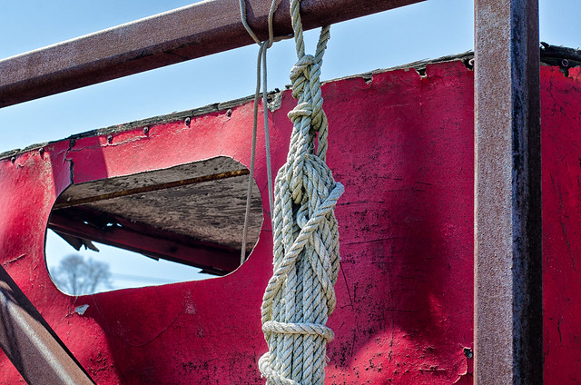 Yard Truck and Rope