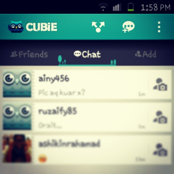 Join me on Cubie Messenger, a fun, free chat app for iOS &… | Flickr