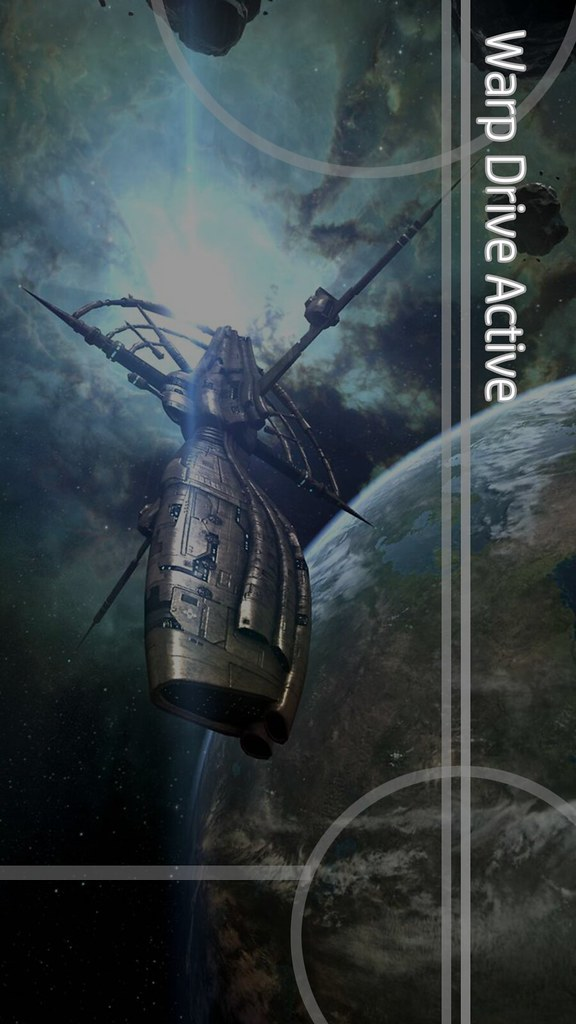 Warp Drive Active - HTC One Wallpaper (EVE Online) | Flickr