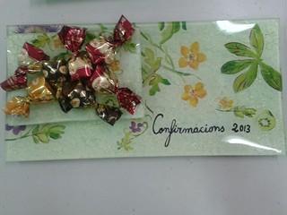 Platos de cristal decorados personalizados.