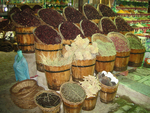 Spices Market in Old Town Sharm - Sharm El Sheikh, Egypt