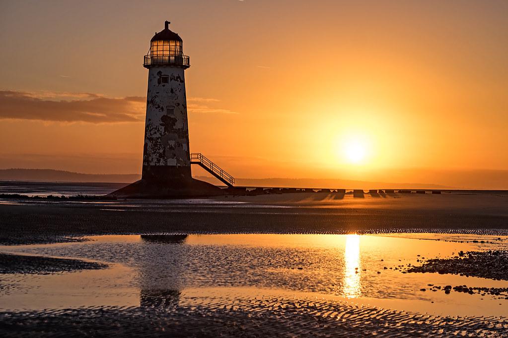 Point of Ayr Lighthouse - Sunrise