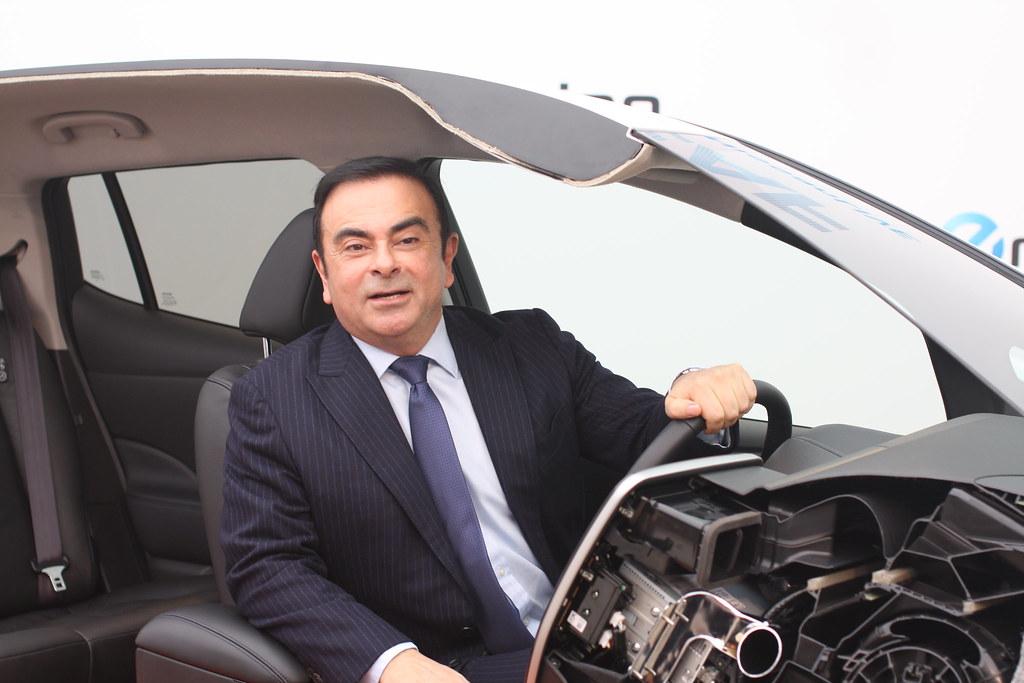 Carlos Ghosn visiting Norway