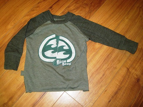 Raw-edged Raglan from Sewing for Boys