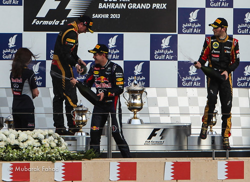 Celebration Time. The Winner Vettel. | by Mubarak Fahad
