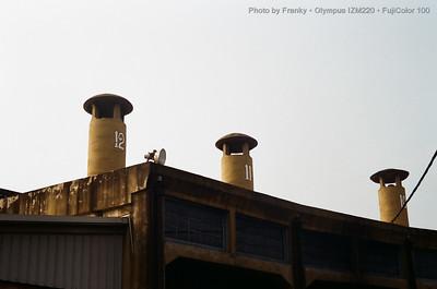 彰化‧台鐵扇形車庫