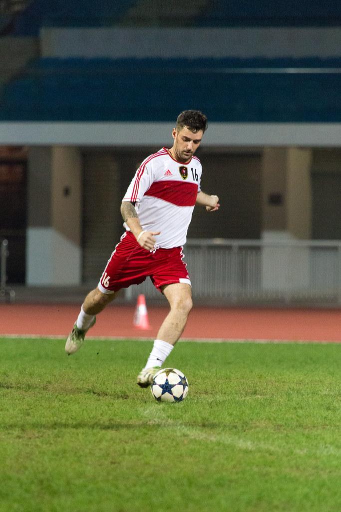 """HKF 16: Luca Marinelli"" / Sunday League: Hong Kong Falcon vs Paulista / 香港足球 Hong Kong Football (Soccer) / SML.20130428.6D.03596"