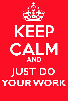 just do work