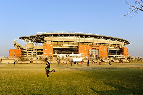 Peter Mokaba Stadium in Polokwane, Limpopo, South Africa