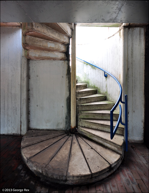 Alexandra Road / stair spiral