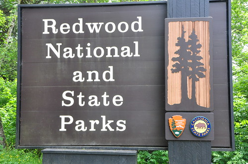 Redwood National and State Park Sign | by brycewgarner
