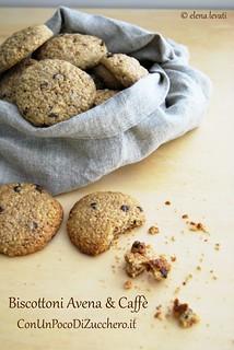 Biscotti avena e caffè 1 | by conunpocodizucchero