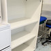 Tall laminate bookcase shelves adjustable E125