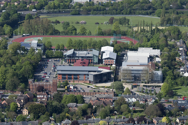 The University of Suffolk at West Suffolk College - Bury St Edmunds aerial