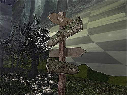 Wonderland Dark Forest - With Clarity of Presence In Mind   by mromani50