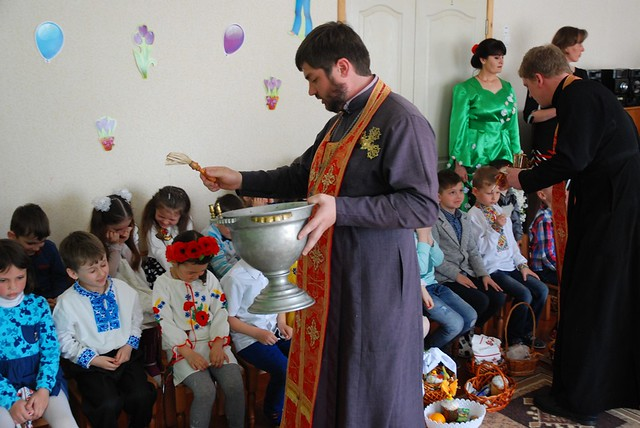 Свято Великодня в дитячому садочку №1