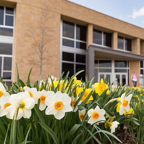 Hello spring — you finally showed up! #GoValpo