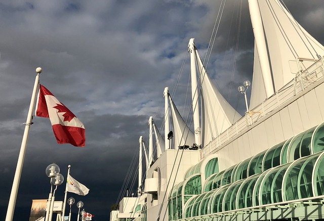 Late light at Canada Place