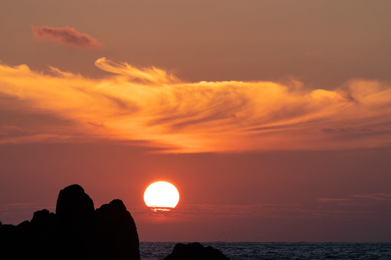 Sunset at Bishop Rock