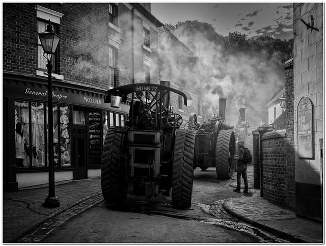 The steam parade