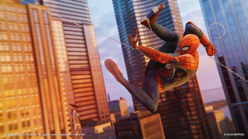 Spider-Man_PS4_Preview_Swing | by PlayStation.Blog