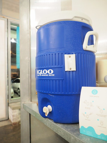Kakigori offers free drinking water from the big water tank | by huislaw
