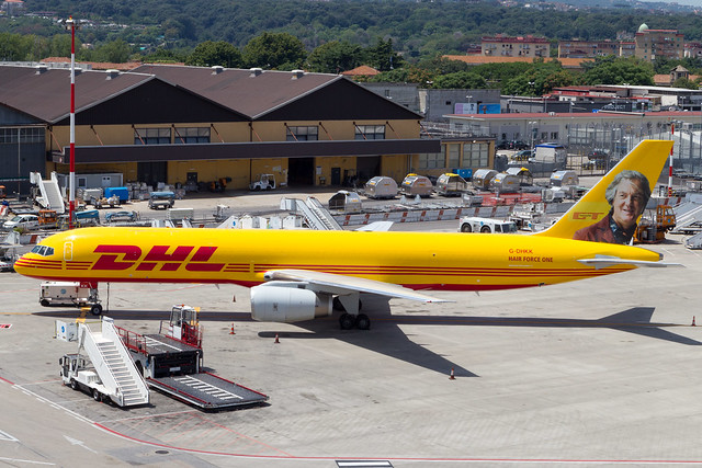 DHL 757-200PCF (Grand Tour livery)