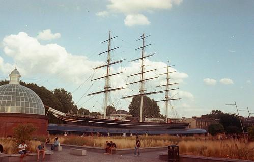Greenwich - UK - Cutty Sark Clipper