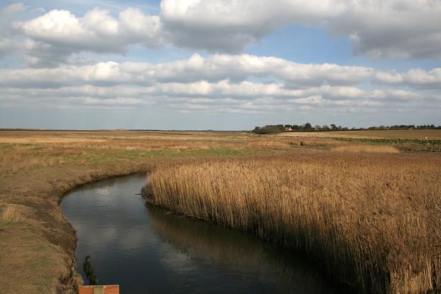 Overy Marsh, Brancaster Overy Staithe, Norfolk