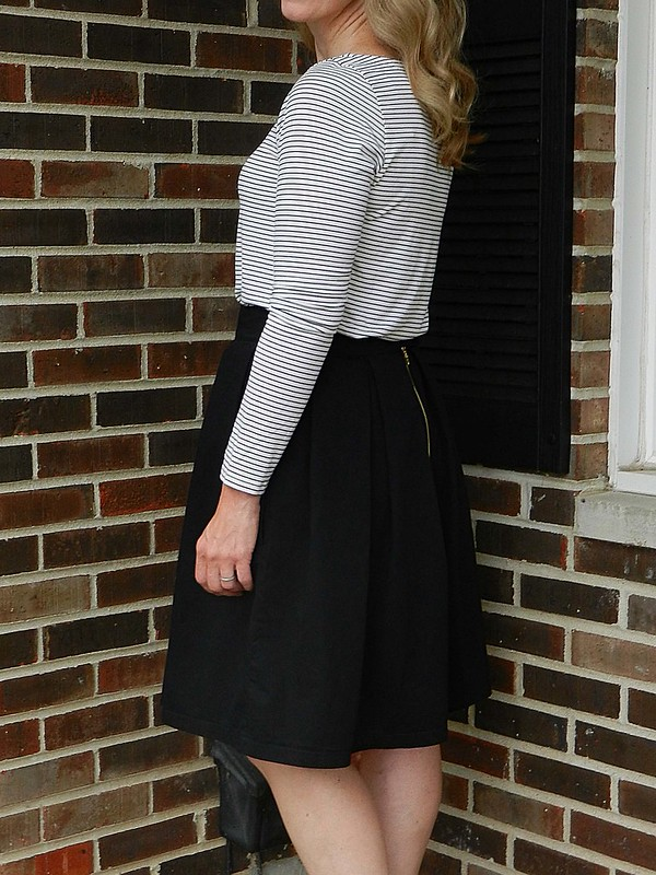 Striped Tee and Skirt 5