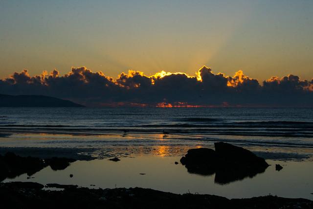 Dublin sunrise