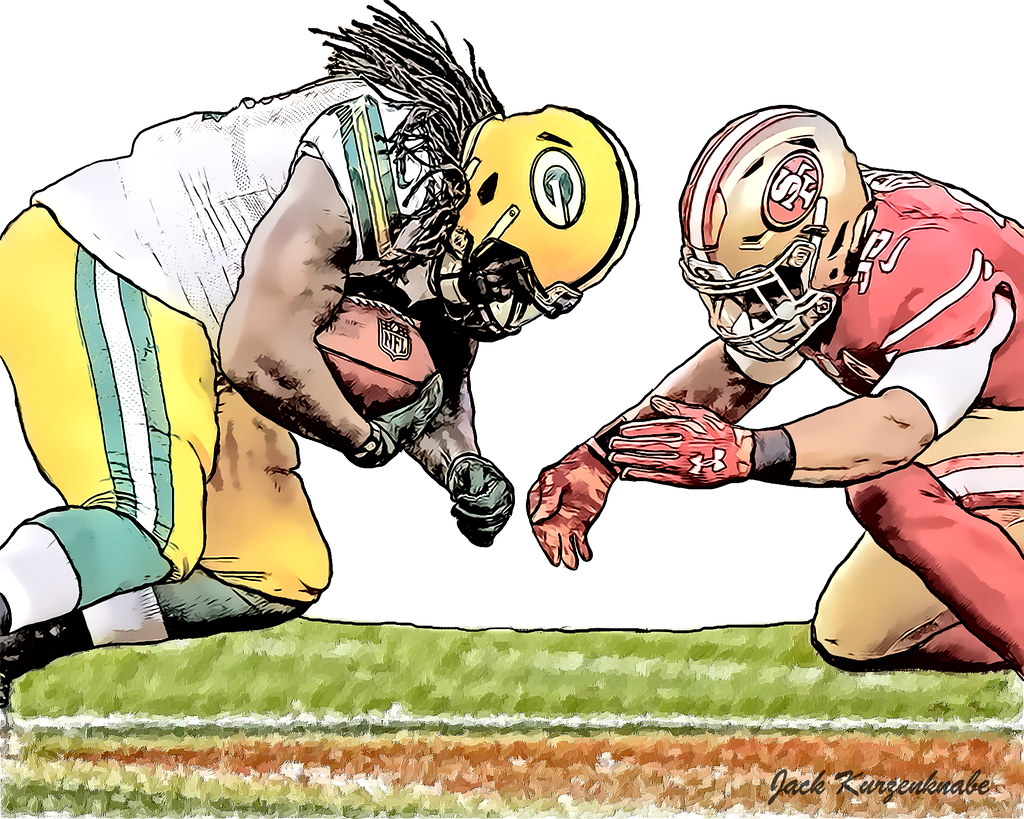 Green Bay Packers Eddie Lacy San Francisco 49ers Eric Flickr