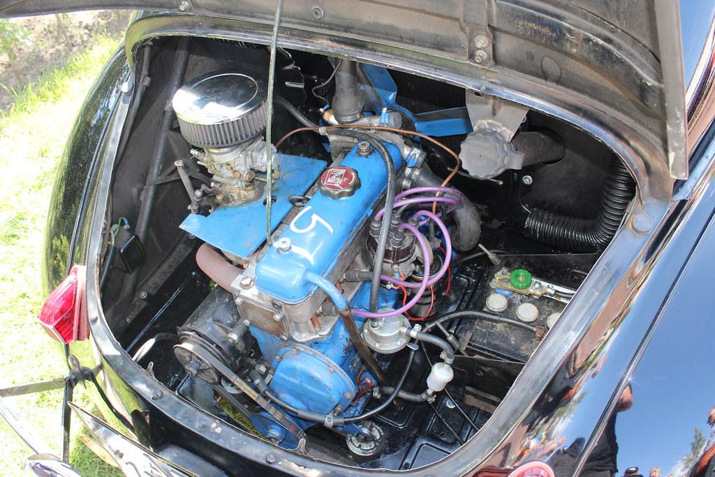 1955 Renault 4 CV, the engine | 1955 Renault 4 CV, the engin… | Flickr