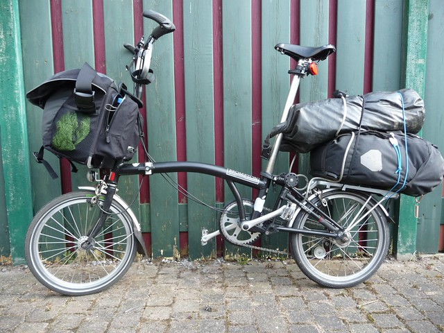 Brompton fully loaded