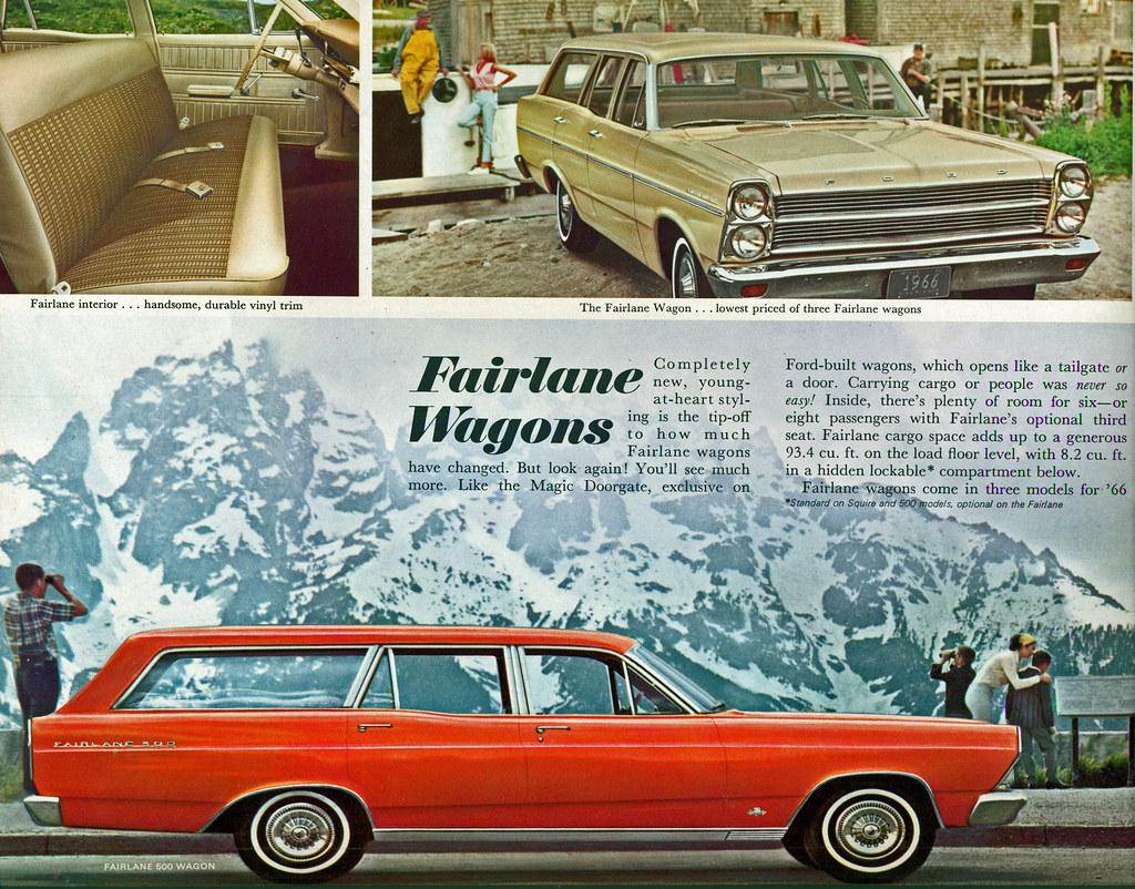 1966 Ford Fairlane 500 Station Wagon   coconv   Flickr