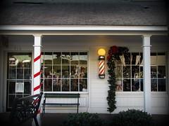 Christmas at the barber shop