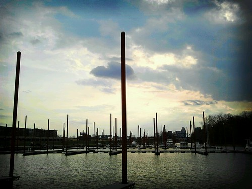 sunset sun skyline clouds docks kentucky wharf louisville flickrandroidapp:filter=berlin