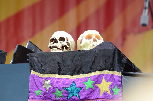 Dr John's skulls, by Hunter King