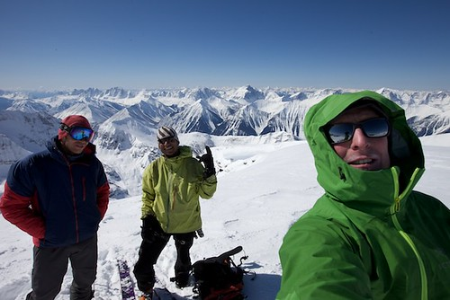 Mon, 2013-04-22 10:16 - Mt. Stanley, North Face and Waterman Couloir with Joshua Lavigen and Ali Haeri