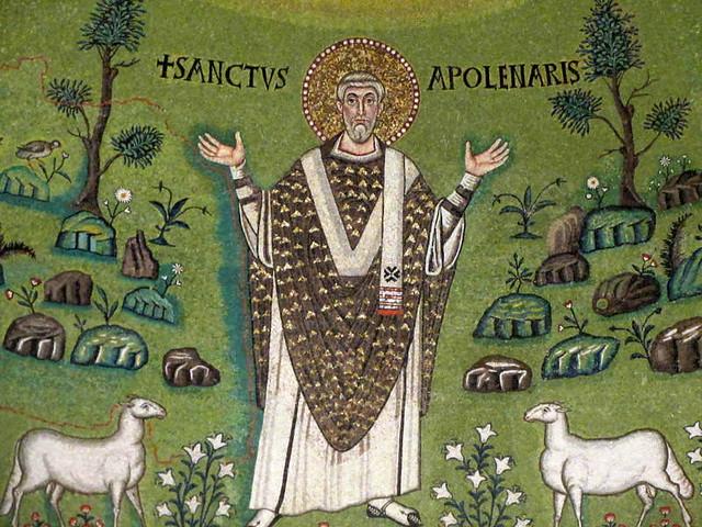 Mosaic, Sant'Apollinare in Classe