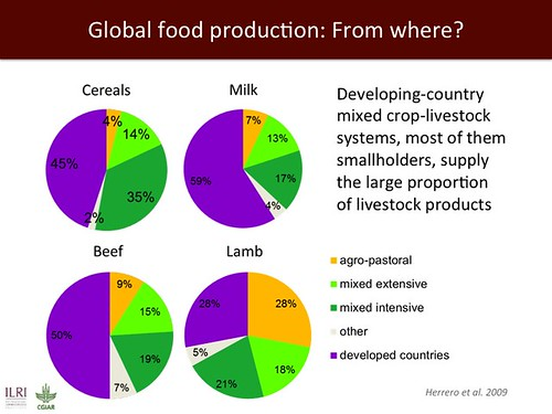 Global food production: From where? | by International Livestock Research Institute