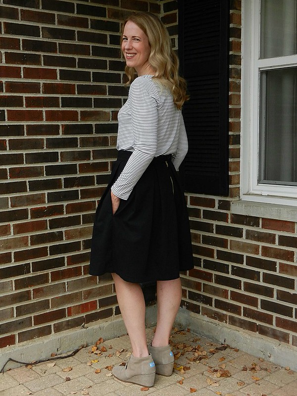 Striped Tee and Skirt 2