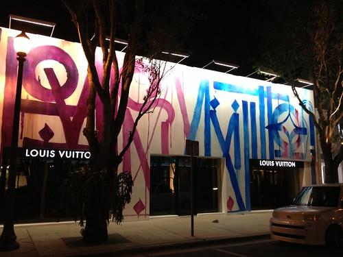 Louis Vuitton - Design District #RETNA | by miamism